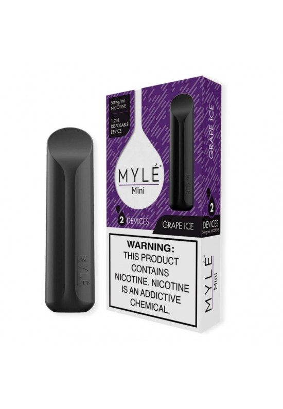 Mini Myle Iced Grape DISPOSABLE